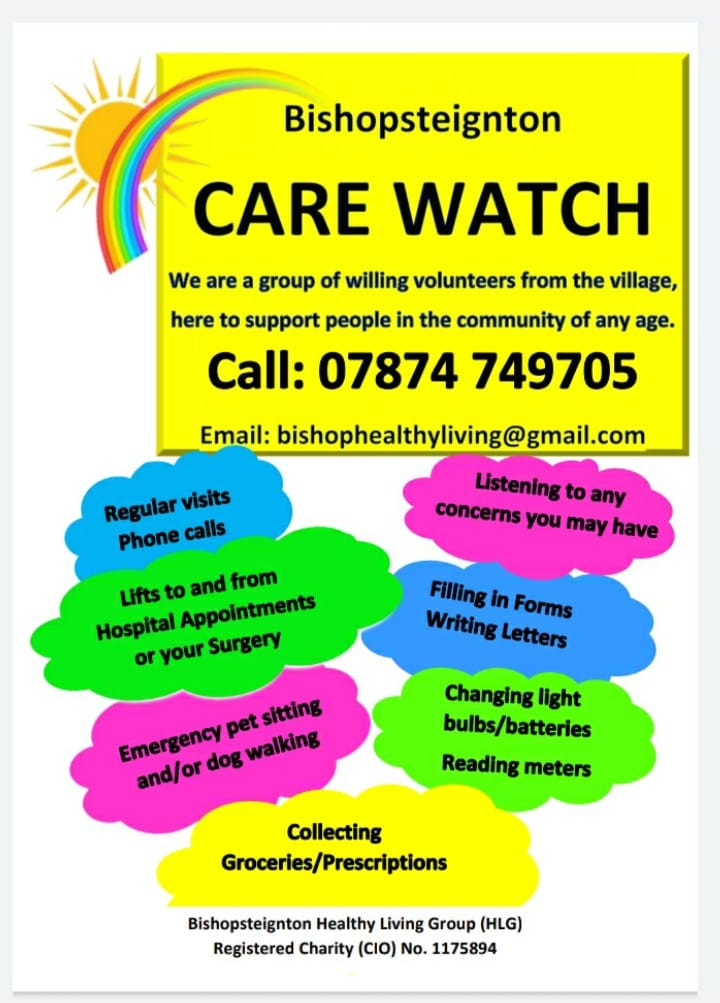 poster for care watch services